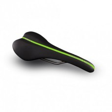 Essax Adrenaline R Road Saddle Ti 130mm Black/Green