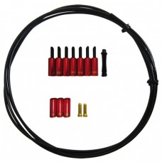 Jagwire ZSK302 Universal Pro Housing Seal Kits - Braided Shift Housing/ Red