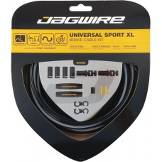 Jagwire Universal Sport - Brake Cables Kit - Black Reflective ( UCK420)