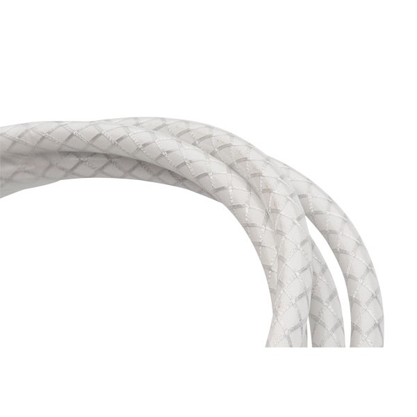 Jagwire 4.5mm LEX L3 Slick-Lube Outer Shift Braided Housing in White