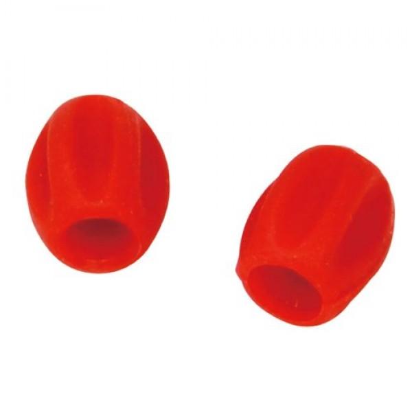 Jagwire CHA112 Mini Tube Tops Red / pc