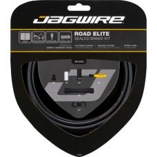 Jagwire Road Elite Sealed Brake Kit Frozen Black (RCK400)