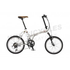 KHS Folding Bike F20 Westwood 24s White