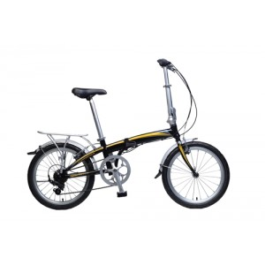 KHS Folding Bike F20-H7 - Black