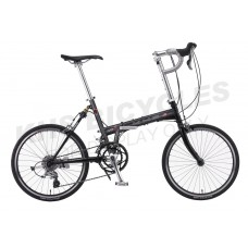 KHS Folding Bike F20R-451 Black