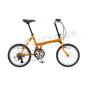 KHS Folding Bike F20-T2 Yellow