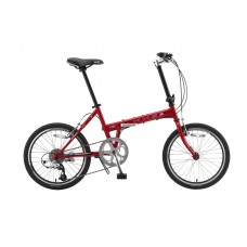 KHS Folding Bike F20T Red