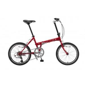 KHS Folding Bike F20T Red