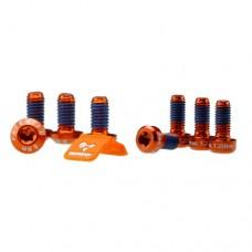 Morgaw Bolts & Label - Orange