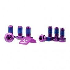 Morgaw Bolts & Label - Purple