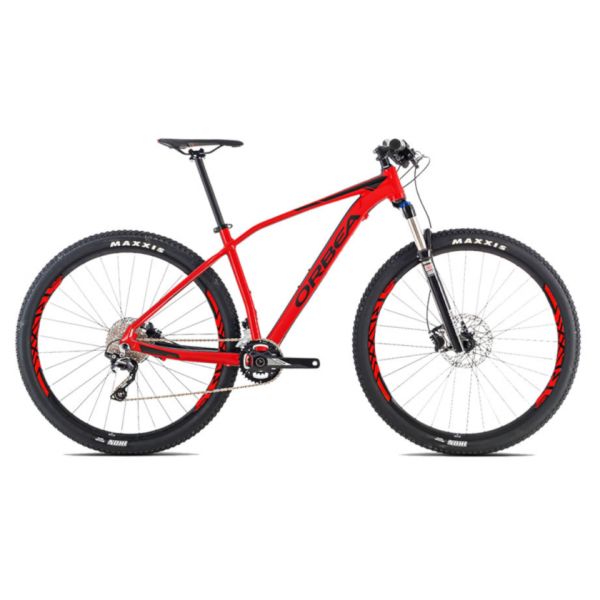 Orbea Alma 27 H50 S 2016 Red-Black