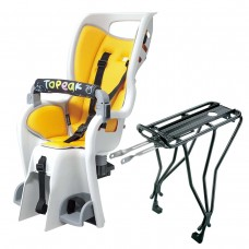 Topeak TCS2205 BabySeat II w Yellow Pad