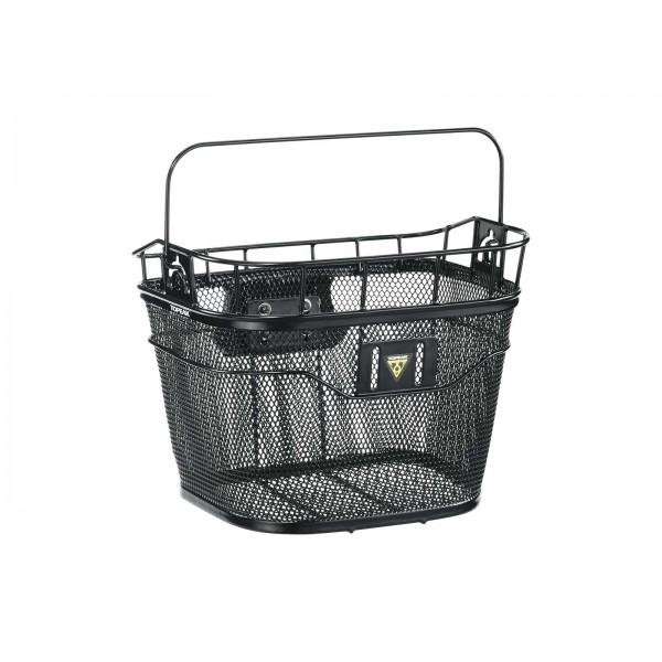 Topeak TB2011B Basket Front w/Fixer 3E Black
