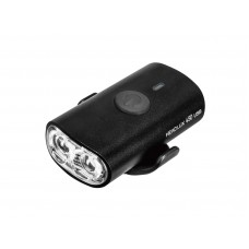 Topeak TMS089B HeadLux 450 USB, 450 lumens, USB rechargeable light, aluminum body, Black